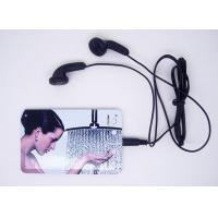 Wholesale Thin Fashion Card MP3 Player (C002) from china suppliers