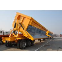 Buy cheap TITAN VEHICLE tipping semi trailers 3 axles with 40 ton tipper truck from wholesalers