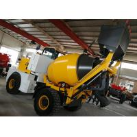 Buy cheap Italy Type Self Loading Concrete Batching Mixer Mobile Wheel Ready Mixer Plant from wholesalers