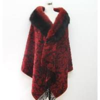 Buy cheap High Level Cashmere with Fox Fur Scarf Shawl 5W-1537 from wholesalers
