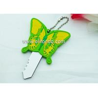 Wholesale PVC butterfly cartoon figures shape cute key cover custom and supply from china suppliers