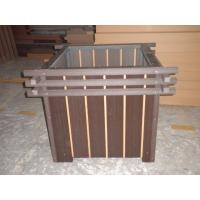 Buy cheap WPC Outdoor Furniture and Recyclable Composite Wooden Flower Pot from wholesalers