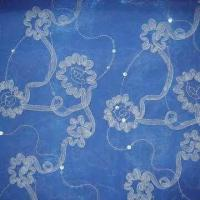 Buy cheap Embroidery on Organza from wholesalers