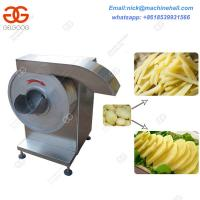 Buy cheap Commercial Potato Chips Slicers Machine|Vegetable Cutting Machine for Sale|Easy Operate Carrot Slicer Machine from wholesalers