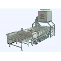 Wholesale PLC control 1600 mm Glass Washing Machine Before Silk Screen Printing Processing from china suppliers