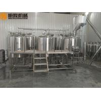 Buy cheap 1000L Electric steam or electircal  heating beer brewing equipment with malt hopper from wholesalers