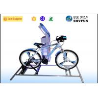 Wholesale Amusement Center Virtual Reality Bike / Sporting 9D VR Bicycle With Cool Game from china suppliers