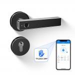 Buy cheap Simple Black Intelligent Bluetooth Door Lock Fingerprint Bluetooth Remote Control from wholesalers