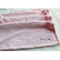 Comfortable Polyester Baby Blanket Personalized With SGS Certificate