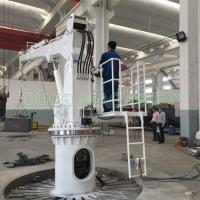 Buy cheap Hydraulic Telescopic Boom Crane Boat Lifting Crane 1T5M ABS Certificated from wholesalers