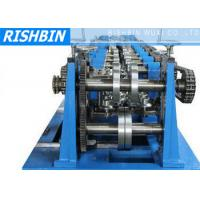 C / Z / U Purlin Roll Forming Machine with 20 Stations for Structural Steel Fabrication Manufactures