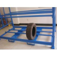 Buy cheap Double layers tire storage folding rack from wholesalers