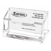 Buy cheap Clear Acrylic Card Display Stand , AcrylicBusiness Card Holder With Pocket from wholesalers