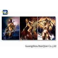 Buy cheap Cartoon Sexy Pretty Girl Photo For Home Wall Decor , 3d Flipped Changing Printing from wholesalers