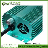 Buy cheap 1000W grow light for HPS/MH lamp of electronic ballast/ switchable dimming ballast from wholesalers