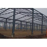 Wholesale Prefabricated Steel Structure Hangar Q235 / Q345B Material Environment Friendly from china suppliers