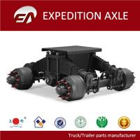 Buy cheap 32T Germany type square tube bogie axles for trailers from wholesalers