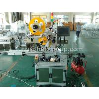 Buy cheap 700W Motor Automatic Labeling Machine Adhesive Bottle Label Applicator Machine from wholesalers