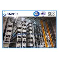 Wholesale Intelligent Automated Storage Retrieval System , AS RS Automated Pallet Racking Systems from china suppliers