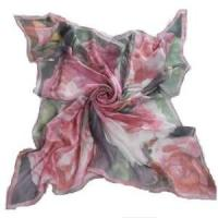 Wholesale Doigital Printing Silk Square Scarf (HP-C01) from china suppliers