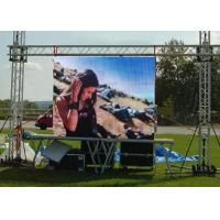 Buy cheap Full Color Outdoor Rental LED Screen Panel P4 P5 P6 , Die Casting External LED Display from wholesalers