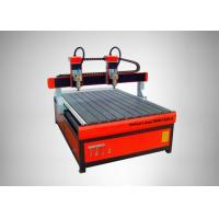 Buy cheap High Speed CNC Router Machine 4 Heads Square Rail Multi - Spindle Engraver from wholesalers