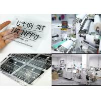 Wholesale 75micron/100micron Matte Hot&Cold Peel Printable Heat Transfer Film For Semi-automatic/Automatic Screen Printing Machine from china suppliers