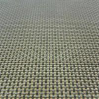 Buy cheap Customized Color Vinyl Coated Mesh Fabric 30% Polyester 70% Pvc UV Resistant from wholesalers