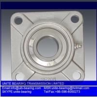 Stainless steel bearing SUCFL206 SUS440 chemical industrial bearing,food grade bearing anti rust bearing Manufactures
