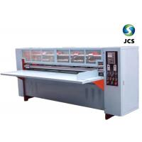 Buy cheap Thin Blade Knife Cardboard Slitting Machine , High Efficiency Paper Creasing Machine from wholesalers