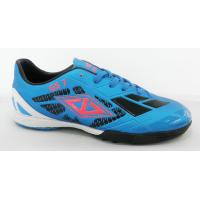Buy cheap Lacing Customized Indoor Soccer Shoes , Rubber Flat Sole Indoor Soccer Cleats from wholesalers