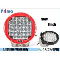 China High Intensity 6000k LED Driving Light For 4 X 4 SUV 4WD Truck 9 Inch 96W Work Light on sale