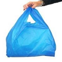 Buy cheap Polylactic Acid Colored Biodegradable T Shirt Garbage Bags With Logo from wholesalers