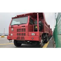 Buy cheap SINOTRUK HOWO Euro II RHD 6X4 420HP Mining Tipper Dump Truck With 9.726L Displacement from wholesalers