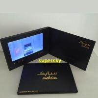 Buy cheap 5 inch screen Video Postcard with switch buttons , video mailer  with Hi-Fi speakers from wholesalers