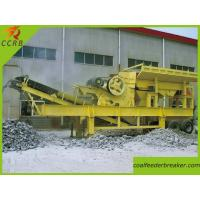 Trailer Type Mobile Primary Jaw Crusher