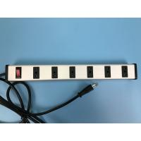 Buy cheap Italy 6 Way Industrial Power Strip with switch,European bipasso Socket from wholesalers