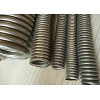 Buy cheap High Temperature Corrugated Metal Hose / Flexible Metal Hoses 2 Inch from wholesalers