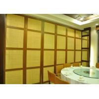 China Wooden Glass Partition , Wood Sliding Doors Customers Own Material on sale