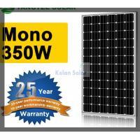 Buy cheap 350W Flexible Mono Solar Panel Good Lamination , Strong Aluminium Frame product