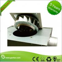 China 125mm Thin Durable Silent Inline Fan / Square Inline Centrifugal Duct Fan on sale