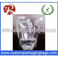 Buy cheap Stand Up Customized Packaging Bag With Spout , High barrier Bag from wholesalers