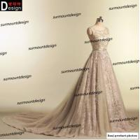 Buy cheap Elie Saab Real Pictures Beautiful Soft Tulle Beaded Long Lace Evening Dress 2015 Online Shopping from wholesalers