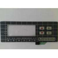 Buy cheap Custom Touch Screen Waterproof Membrane Switch With 3M Adhesive , High Sensivity from wholesalers
