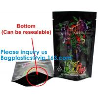 Buy cheap Aluminum Foil Mylar Smell Proof Bag Weed k Bag,Child Resistant Exit Handle Bags Smell Proof For Legal Medicinal Pr from wholesalers