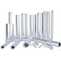 Buy cheap 6082 Aluminum Rectangular Tubing , Industrial Moulding Thick Wall Aluminum Tubing from wholesalers