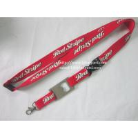 Buy cheap 20cm Promotional Screen Neck Lanyard With Metal Bottle Opener Lanyard from wholesalers