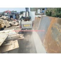 Buy cheap Low Noise Biomass Crusher Metal Separator Waste Timber Pallet Crusher 50Hz product