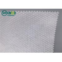 Wholesale Pearl Pattern Spunlace Nonwoven Fabric Polyester / Viscose Cross Lapping from china suppliers