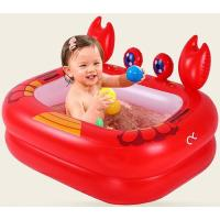Buy cheap 0.3mm PVC welded children toys air inflatable swimming pool for baby from wholesalers